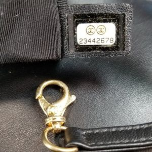 CHANEL Bags - CHANEL BOY LARGE BLACK QUILTED LAMBSKIN FLAP BAG